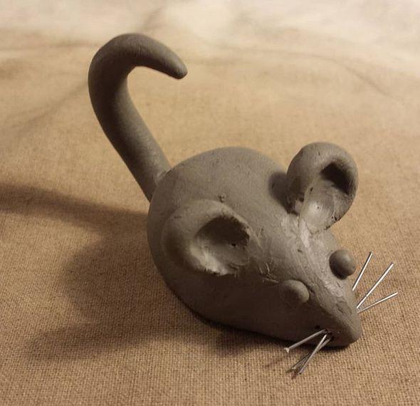 Maus, Keramik von Herz zu Herz