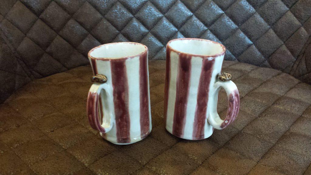 doppelte Espressotassen,Kaffee,,Keramik,Handarbeit