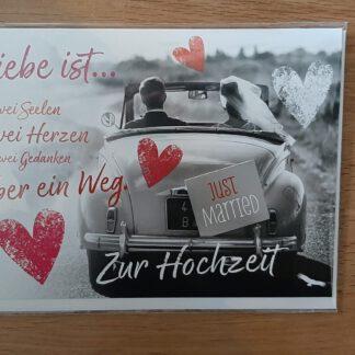 Karten, Augsburg, zur Hochzeit, KeraMik von Herz zu Herz